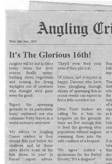 Angling Crimes