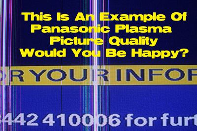 Panasonic picture-quality