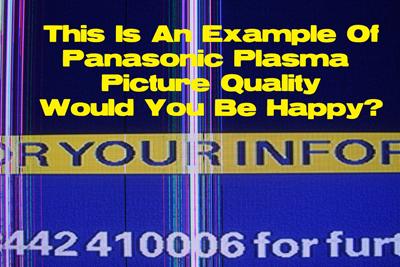 Panasonic picture-quality