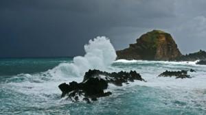 1. Waves Crashing