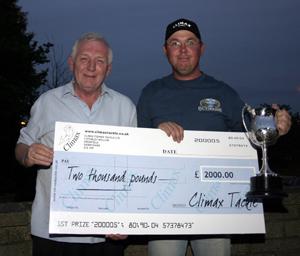 2005 Winner Kev Parkes