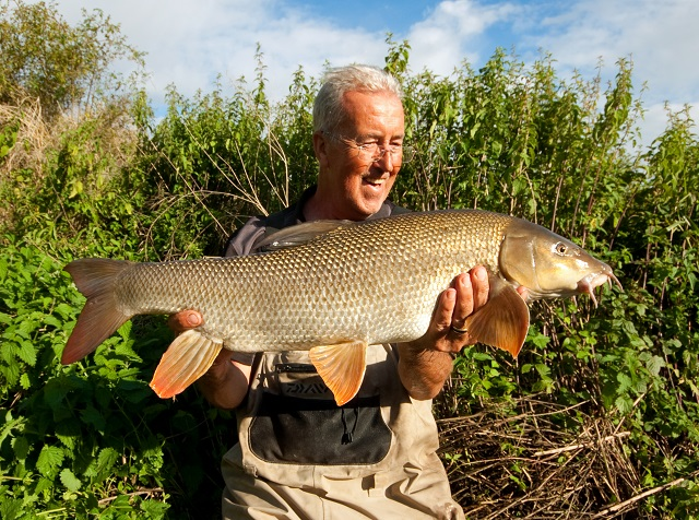Float-Caught Barbel