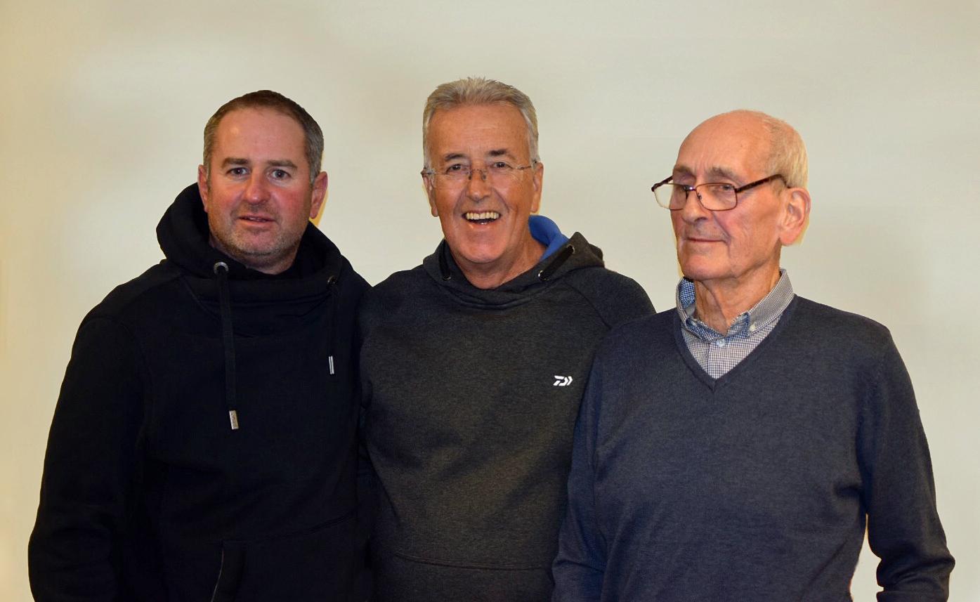 Phil Ringer, Bob Roberts, Archie Braddock
