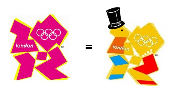 london 2012 logo lisa simpson. London 2012 Olympic logo